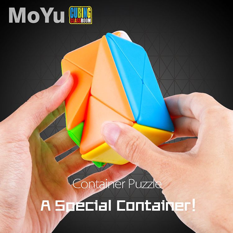 MoYu Classroom Column Container Puzzle Magic Cube Stickerless X Cube Toy Cubo Magico Game Educational Kid Toys For Children