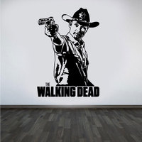 Pegatina de pared de The Walking Dead TV, decoración del hogar, calcomanía de vinilo para dormitorio para niños, Mural de arte extraíble E639