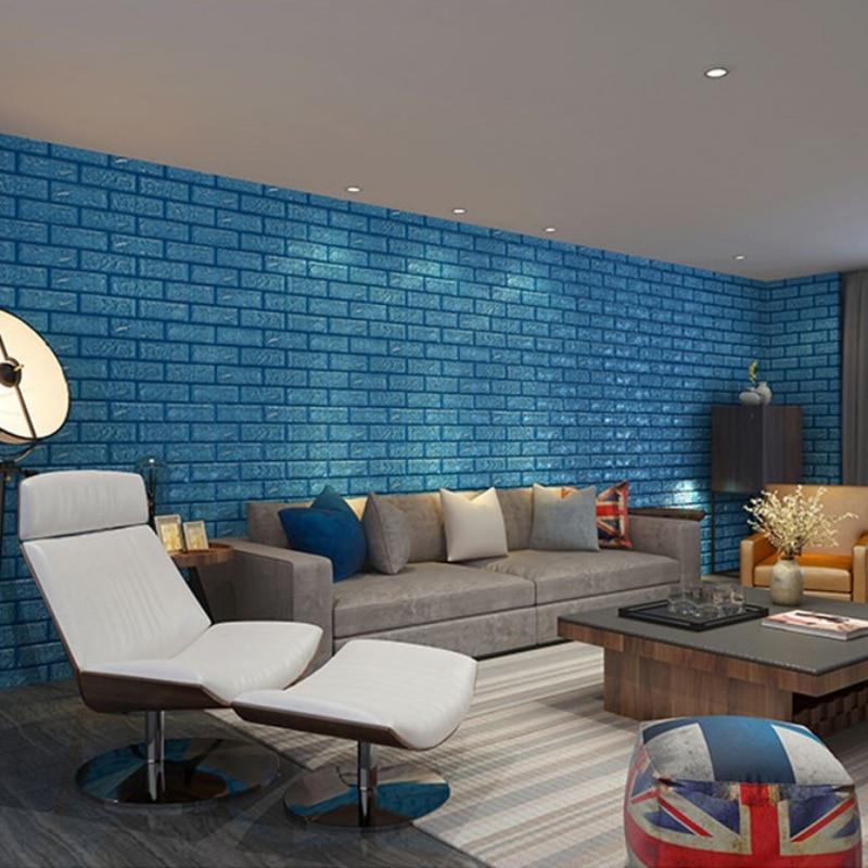 ᑎ‰Nueva 60x60 cm PE espuma 3D Adhesivos de pared decoración de la ...