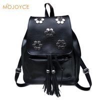 Hot2017 Fashion Women Backpack High Quality Youth Leather Backpacks For Teenage Girls Female School Shoulder Bag
