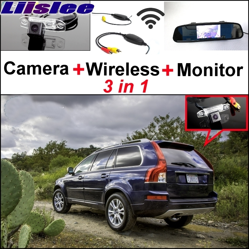 Lisslee For Volvo XC90 2002~2017 3 in1 Special Rear View Wifi Camera + Wireless Receiver + Mirror Monitor Easy  Parking System пламенный мотор машинка инерционная volvo пожарная охрана