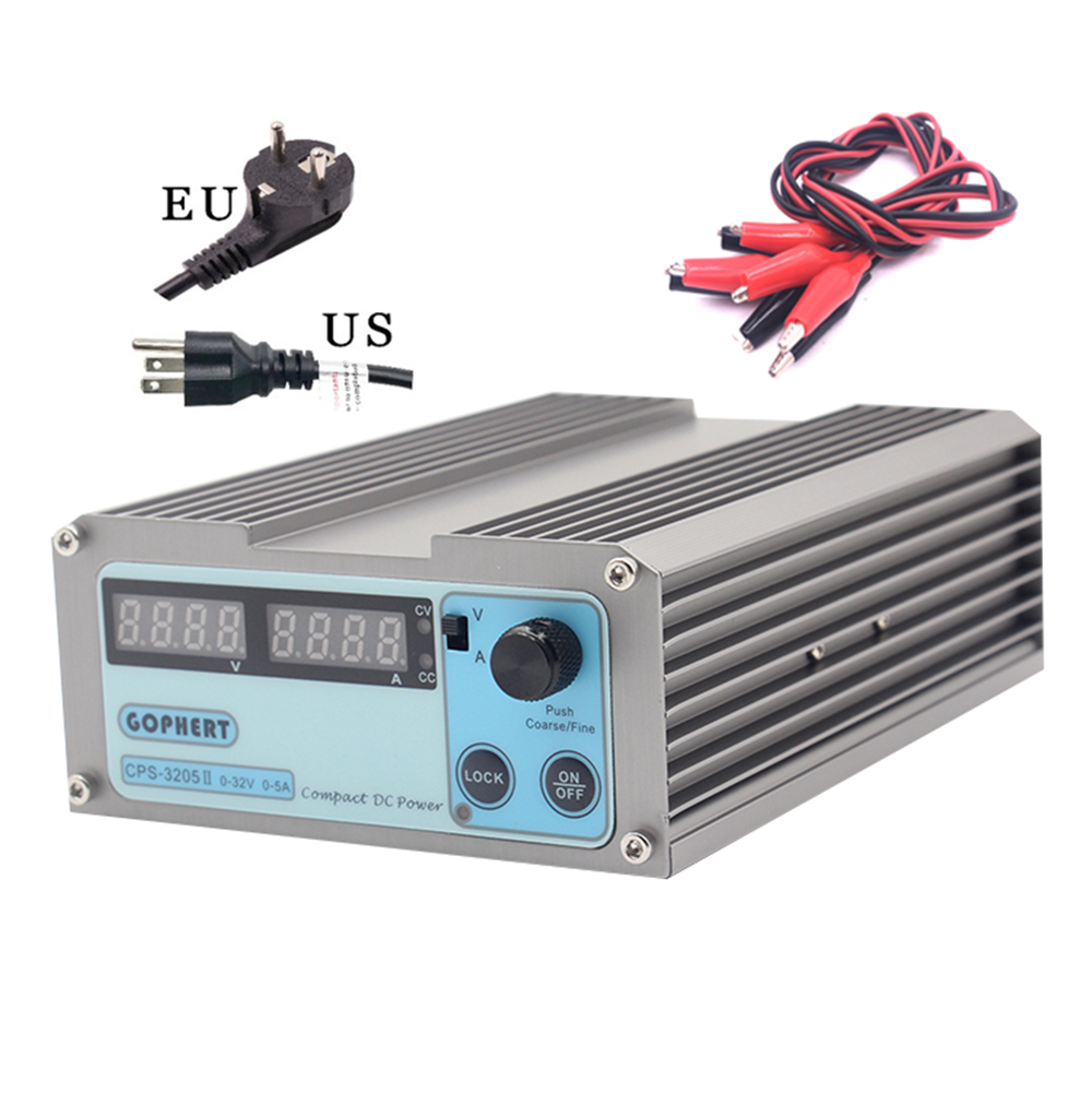 CPS 3205II DC Power Supply adjustable Digital Mini Laboratory power supply 32V 5A 0.01V 0.001A Voltage Regulator dc Power Supply dc power supply uni trend utp3704 i ii iii lines 0 32v dc power supply