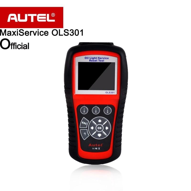 Autel MaxiService OLS301 Oil Light and Service Reset auto diagnostic Tool service mileage and service intervals