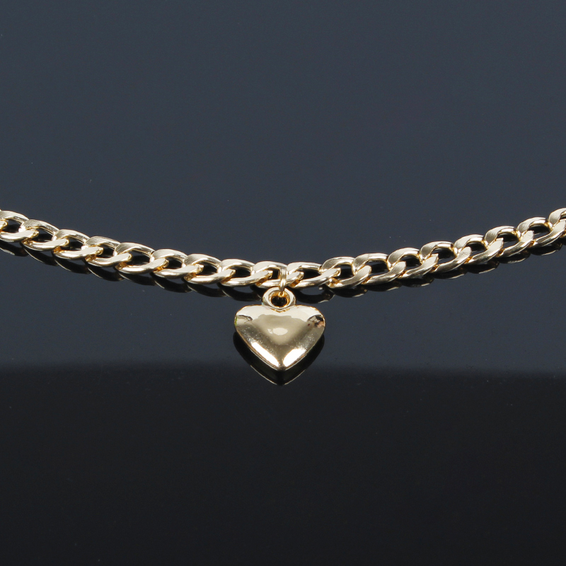 Trendy-Women-Jewelry-Cute-Heart-Lock-Necklace-Gold-Silver-Choker-Necklace-Pendant-On-Neck-Accessories