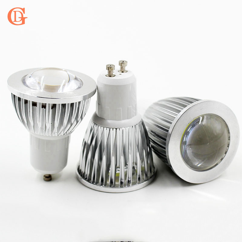 3w 5w 7w Led Cob Bulb Gu10 Led Bulb Dimmable Cheap Energy Saving Bulb E27 220v Led Spot Light
