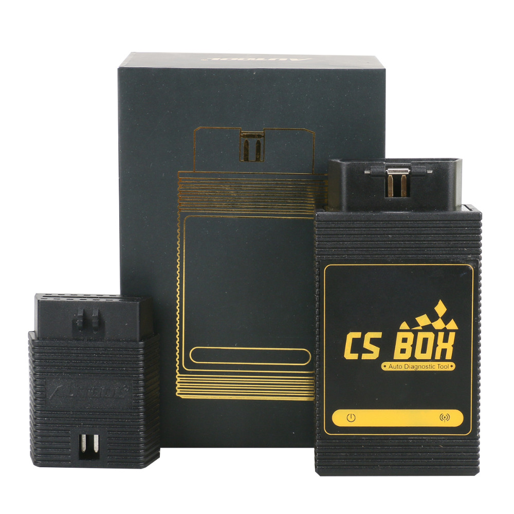 AUTOOL CS BOX OBDII Multi System WiFi Diagnostic Tool ETC Airbag ABS Key Coding for Android Better than Launch Easy Diag Mdiag ...