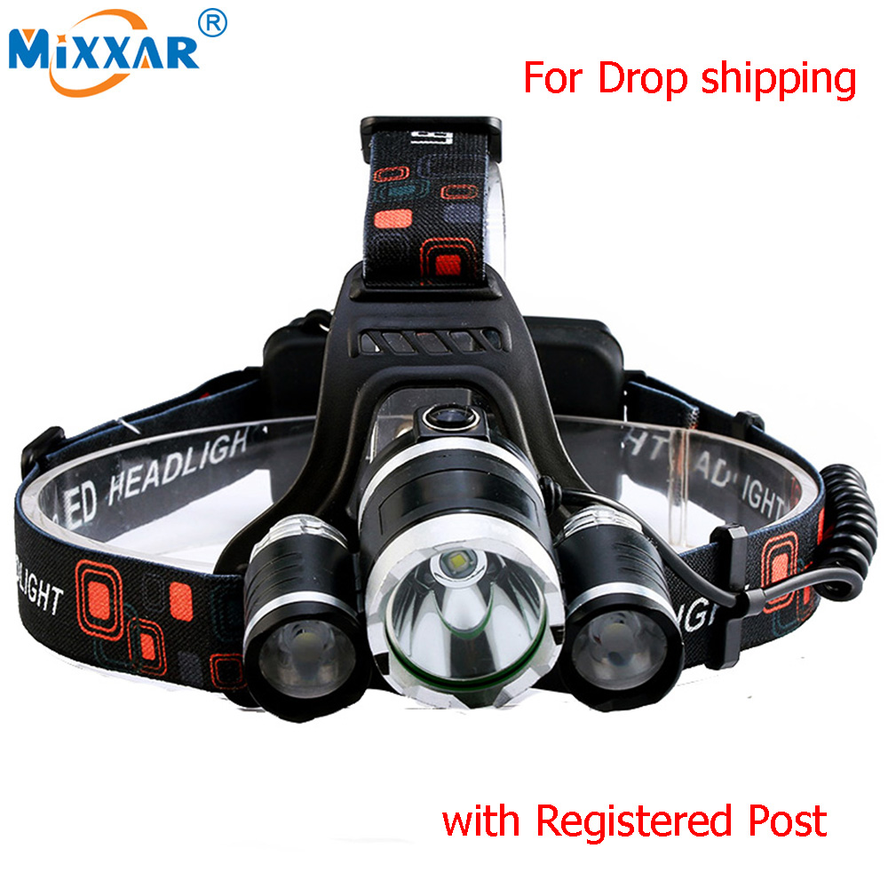 Hot Sale 9000LM 4 Mode LED Headlamp headlight Energy Saving Outdoor Sports Camping Fishing Head Lamp LED Flashlights Light ultrafire u 100 4 led 4 mode 2400lm white bike light headlamp black deep pink
