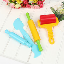 Intelligent Plasticine Modeling Mould Hand Play Tools 6pcs Polymer Clay(China)