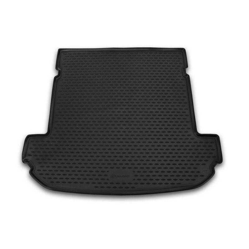 Mat rear trunk lid cover trim For KIA Sorento 2015->, внед... 7 seats, lengths... 1 PCs (polyurethane) mat trunk for cadillac escalade 01 2015 внед lengths 1 pcs polyurethane beige
