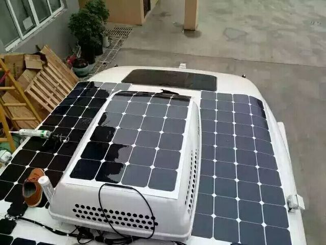 Value 120w Roof Roof Installation 12v Battery
