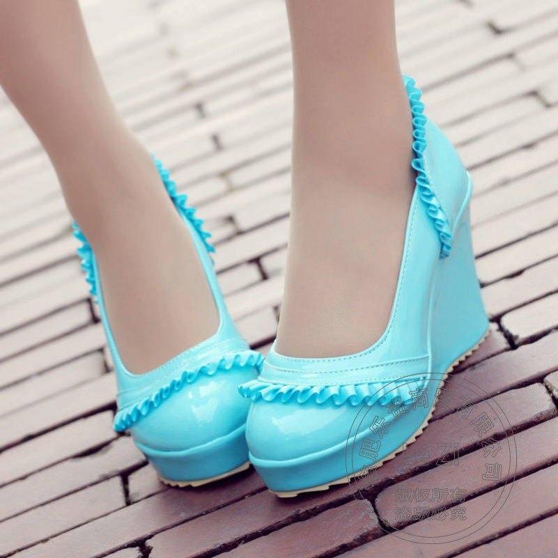 Platform Designer Shop Online Shoes font b Women b font For Lacework Bridesmaid Wedge Cheap High