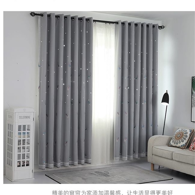 White And Gray Color Block Curtains Tyres2c