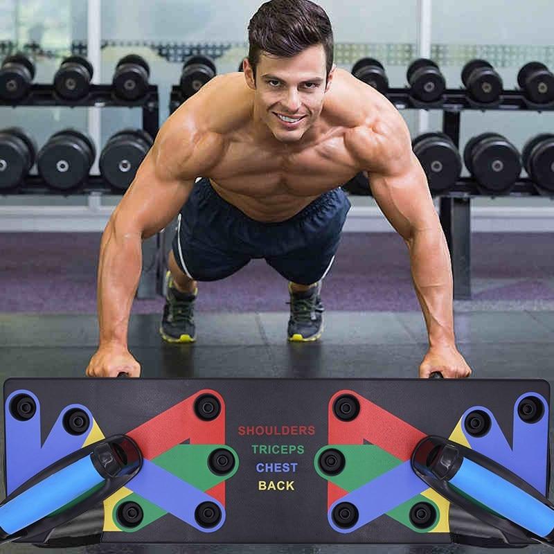 Krafttraining & Gewichte Push Up Rack Board Bodybuilding Ständer Komplette Ausbildung Fitnessstudio Übung