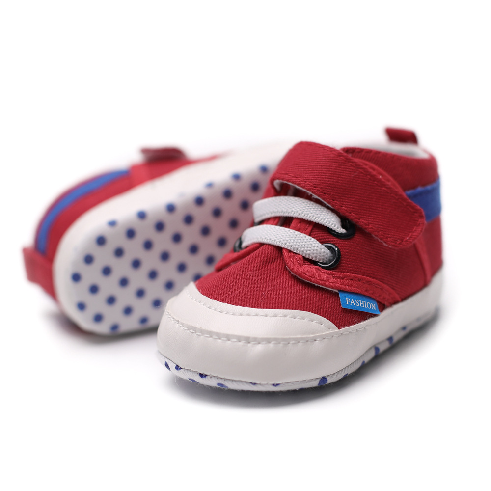 New Baby Toddler Shoes 0 - 6 - 9 - 12 Soft Baby Shoes Indoor Baby Shoes GXJ