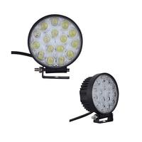 4Pcs Round 48W LED Work Light Spot Flood LED Offroad Light Lamp Work Light For Off