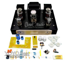 BOYUN EL34 Vacumm Tube Amplifier Single-ended Class A HiFi Stereo Amp DIY KIT 12W+12W 110~240V