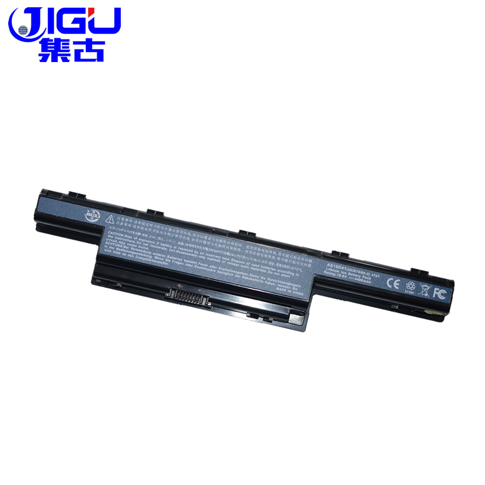 JIGU Laptop  Battery For Acer Aspire V3 5741 5742 5750 5551G 5560G 5741G 5750G AS10D31 AS10D51 AS10D61 AS10D71 AS10D75 AS10D81 jigu laptop battery for dell 8858x 8p3yx 911md vostro 3460 3560 latitude e6120 e6420 e6520 4400mah