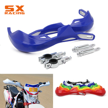 22MM 28MM Motocross Hand Handlebar Handle bar Guards Handguard For YAMAHA YZ YZF WR WRF TTR 125 250 400 450 426 YZ250F WR450F 270mm blue front floating brake disc rotor adaptor for yz yzf wr wrf 250 400 450 motorcycle supermoto motard motocross