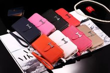 4.7″ Hot Fashion Luxury H Type Leather Wallet flip cover case For Apple iPhone 6 6s plus 5.5″ with Card Holder handbag