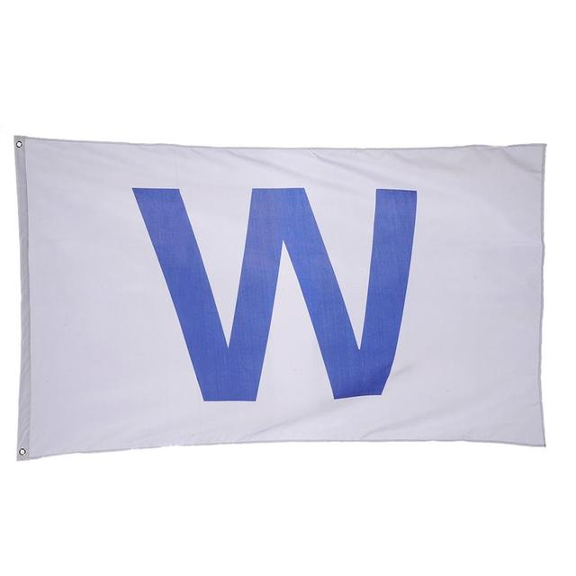 W\' Flag Chicago Cubs Win Wrigley Field Team Flag American Banner ...