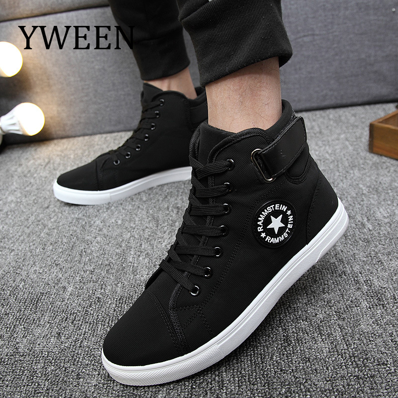 YWEEN Men's Vulcanize Shoes Men Spring Autumn