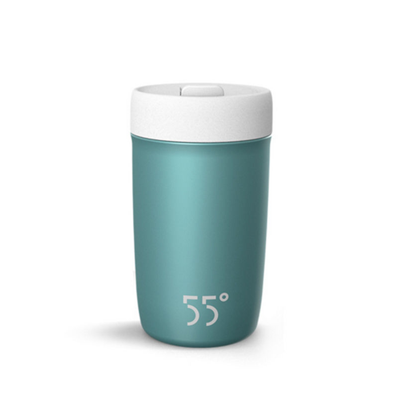 Quick cooling cup non-insulated cup stainless steel creative smart shake water cup creative fashion portable stainless steel vacuum cup