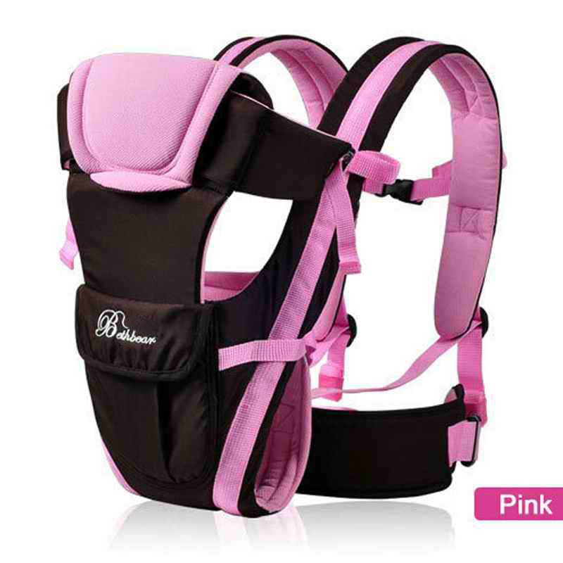 Chusta do noszenia dzieci 0-30 miesięcy oddychający przodem do świata nosidełko dla dziecka 4 w 1 niemowlę wygodny plecak pokrowiec Wrap Baby kangur Kid Belt
