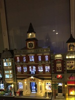 LED light up kit (only light included) for lego 10224 Compatible with 15003 Creators The town hall Model Building Kits