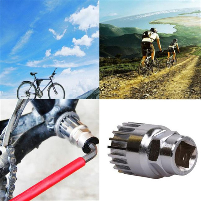 226256277 B2 Cycling Mountain Bike Axis Sleeve Hole Spline Axis Disassembly  Maintenance Tools Inst Accessories Retail Wholesale