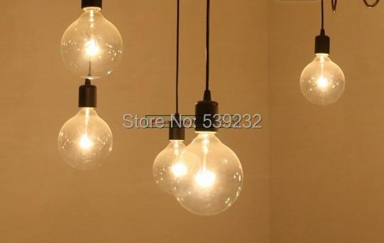 SimpleStyle Edison Chandelier Light Lámpara colgante10 luces E27 - Iluminación interior - foto 2