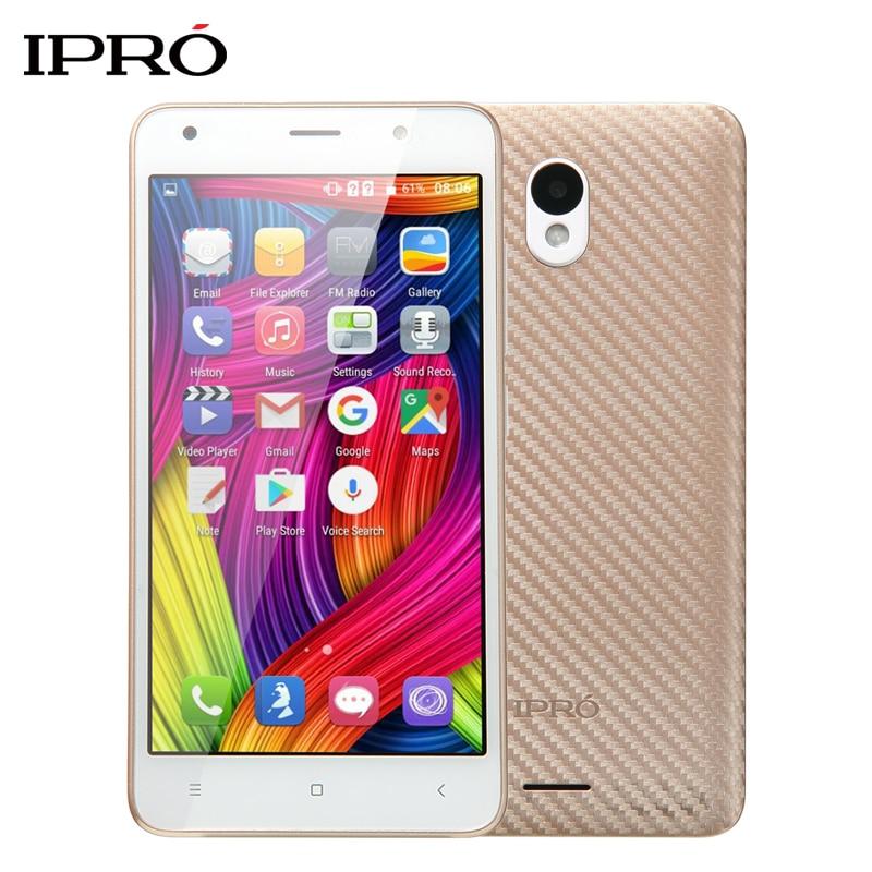 Original IPRO WAVE 5.0 inch I950G Dual SIM Cards Smartphone Celular Android 6.0 GSM/WCDMA 2000mAh Battery Unlocked Mobile Phone