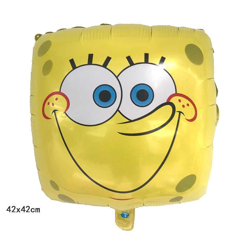 1 ピース 42*42 センチスポンジ表現バルーンアルミ箔ヘリウム風船誕生日パーティーの装飾子供のおもちゃ用品