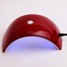 Лампа для маникюра 36w Светодиодный лампы сушки гель luck обновленную