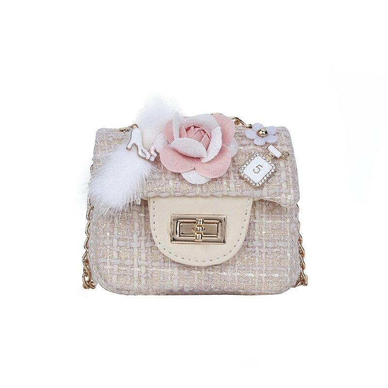 Children Girls Princess Flowers Purses Shoulder Messenger Bags Kids Handbag UK