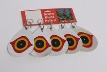 все цены на Bird Repellent Diverter Discs Bird scare eye Scare birds away- Pest Deterrent (Set of 5) онлайн