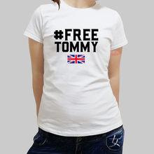9058f7c5 new arrived Free Tommy Robinson shubuzhi women t-shirt fashion style summer  female t shirt