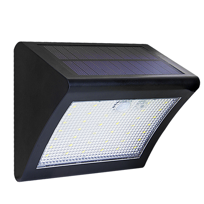LED Solar Light Powered LED Solar Lamp Panel 38LED Motion Sensor IP65 Human Body Induction Outdoor Lighting Garden ABS Wall Lamp led solar lamp waterproof ip65 20led solar light powered garden led solar light outdoor abs wall lamp stairs lights