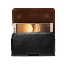 Luxury Genuine Leather Men Waist Bag Clip Belt Pouch Case For Caterpillar Cat S61 S31 S41 S60 S40 S30 S52 DOOGEE S60 Lite S90