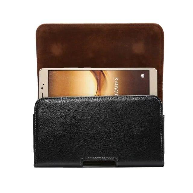 3abfd69bc7 Luxury Genuine Leather Men Waist Bag Clip Belt Pouch Case For Caterpillar  Cat S61 S31 S41 S60 S40 S30 Bag Case