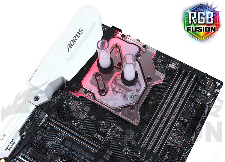 EK-FB GA Z270X CPU Water Block Heatsink Gigabyte Z170 Z270X Water Cooler For Motherboard + CPU цена