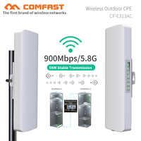5KM de alcance 900Mbps 5,8G puente inalámbrico al aire libre wifi CPE Punto de Acceso antena WI-FI router wifi repetidor Nanostation para cámara IP