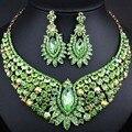 De coral perlas africanas joyería nigeriano boda perlas africanas joyería conjunto cristalino del oro plateado joyería de la boda establece