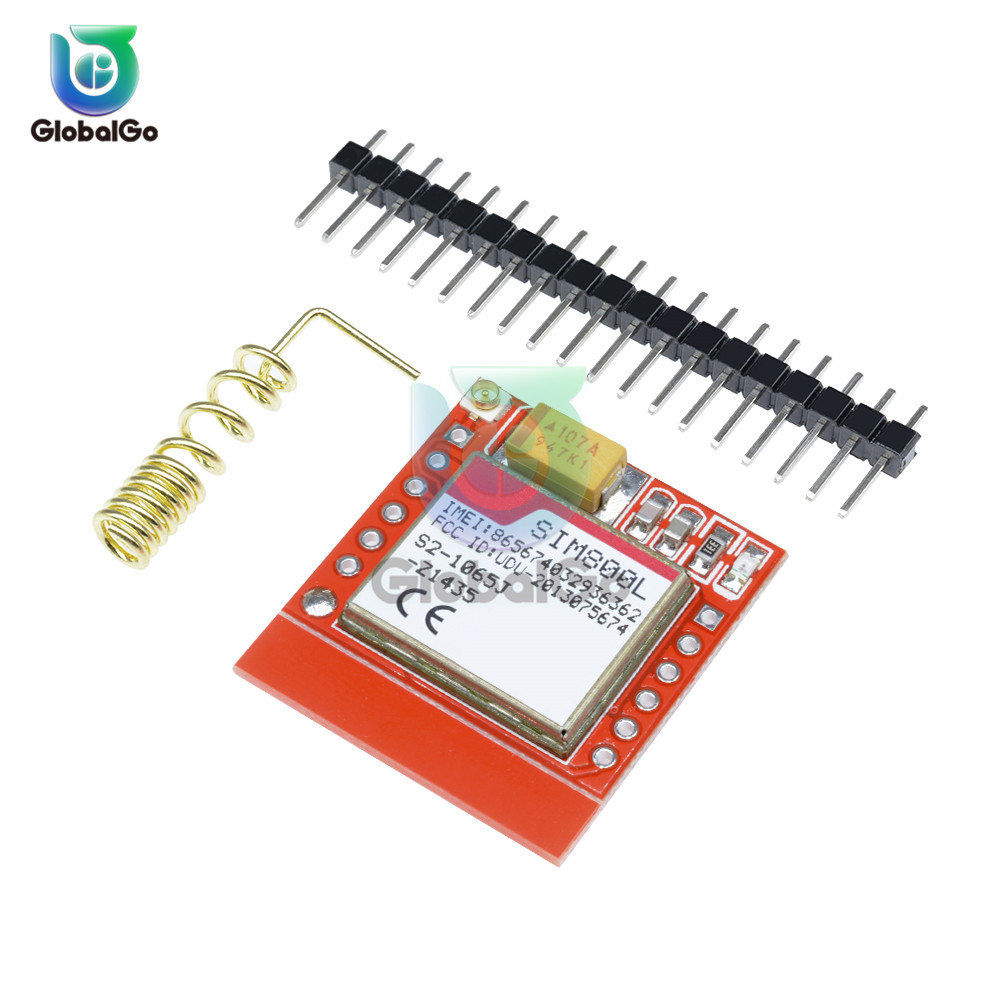 SIM800L Quad-Band GPRS Adapter Plate GSM Module Micro SIM Card with Antenna
