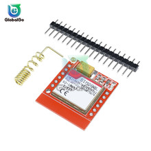 Mini SIM800L GPRS GSM Module Micro SIM Card Core Wireless Board Quad-band TTL Serial Port With Spring Antenna Pin for Arduino new arrival sim808 gprs gsm module gsm and gps two in one function module quad band with gsm antenna and gps antenna diy kit