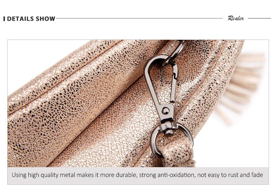 de alta qualidade couro genuíno saco do