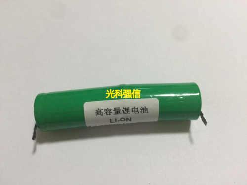 Новая Подлинная 7,4 V полимерная перезаряжаемая литиевая батарея 16340 1200MAH линия два на сварочной части литий-ионная аккумуляторная батарея