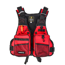 Fly Fishing Vest Professional Swimming Life Jacket For Drifting Boating Survival Fishing Safety Jacket Water Sport Wear