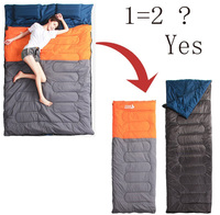 Camping Sleeping Bag Couple 2 3kg Sleeping Bag For 2 Person Giant Double Sleeping Bag With