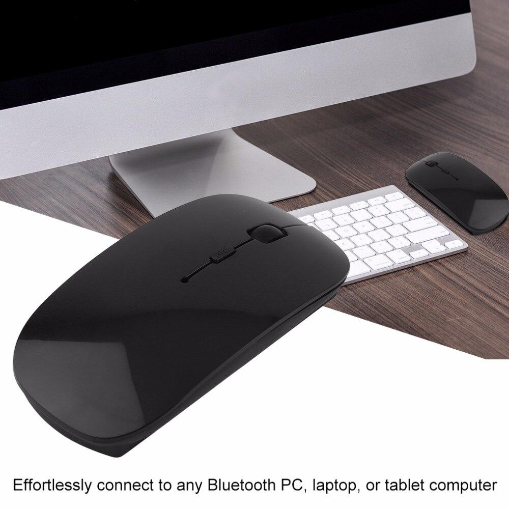 Портативный Перезаряжаемые Bluetooth 3,0 игровая 1200 Точек на дюйм регулируемый Беспроводной Мышь для портативных ПК Планшеты компьютер Мышь VML-09