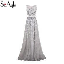 SoAyle Prom Dress Dresses 2018 A-Line Evening Dress